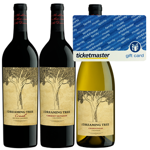The Dreaming Tree 3 Pack + $50 Ticketmaster Gift Card