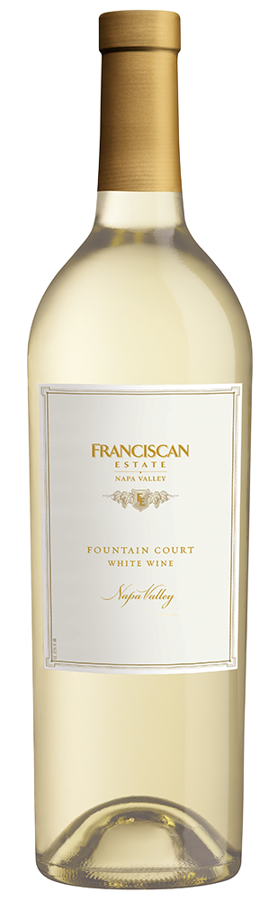 2015 Franciscan Estate Fountain Court White Blend Napa Valley Image