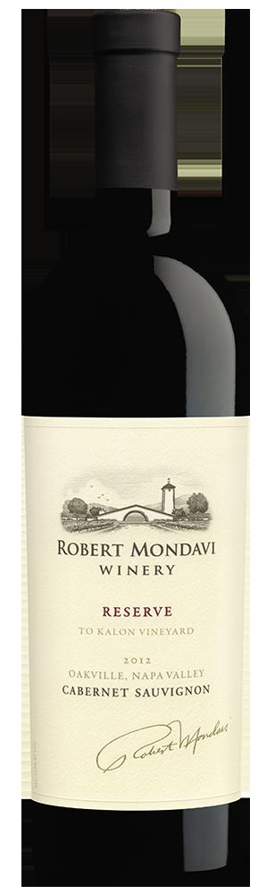 2012 Robert Mondavi Winery Reserve To Kalon Vineyard Cabernet Sauvignon Oakville Napa Valley Image