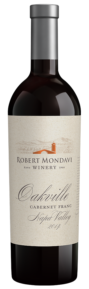 2014 Robert Mondavi Winery Cabernet Franc Oakville Napa Valley