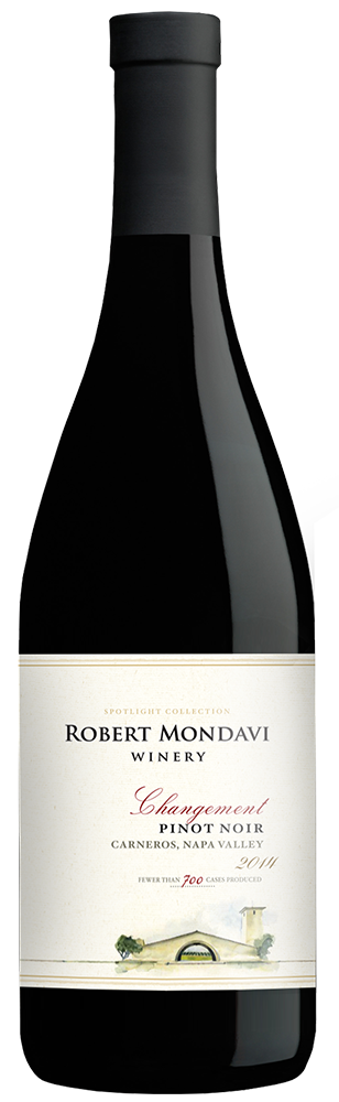 2014 Robert Mondavi Winery Changement Pinot Noir Carneros Napa Valley
