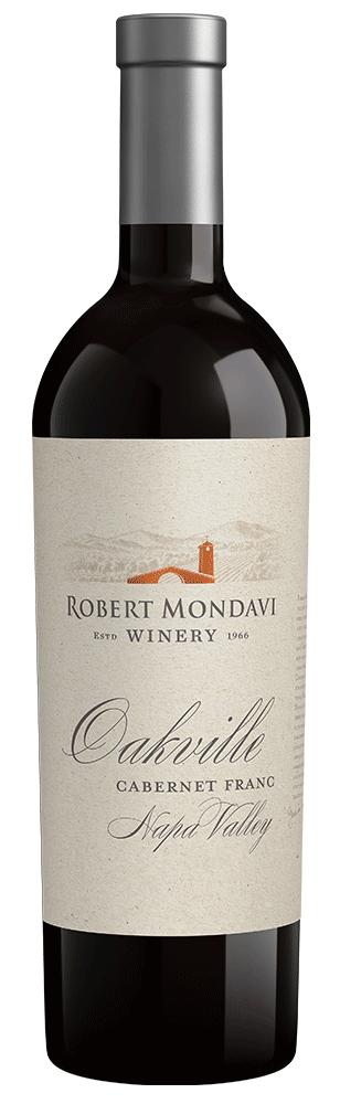 2015 Robert Mondavi Winery Cabernet Franc Oakville Napa Valley