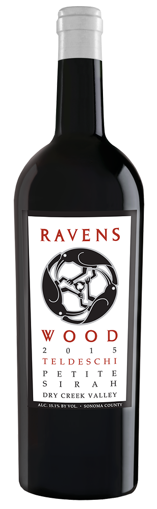 2015 Ravenswood Teldeschi Vineyard Petite Sirah Dry Creek Valley