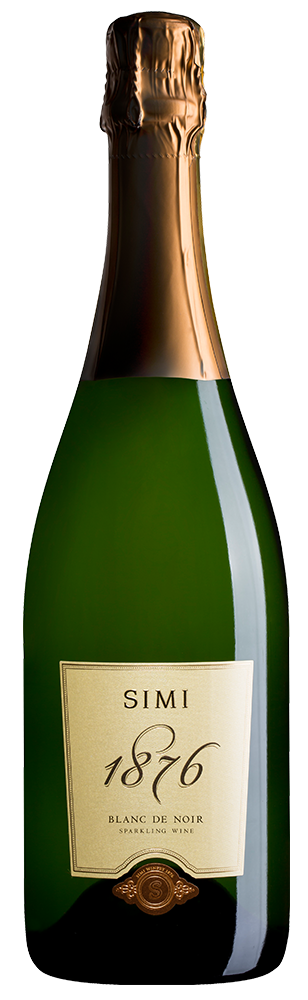 SIMI 1876 Blanc de Noirs Sparkling Wine Sonoma County Image