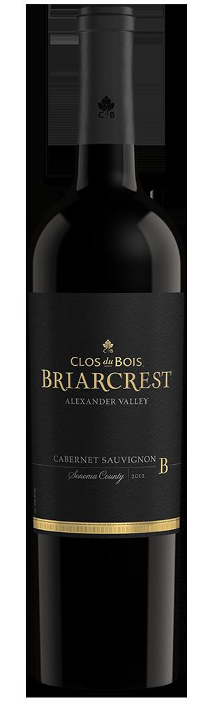 2012 Clos du Bois Briarcrest Cabernet Sauvignon Alexander Valley