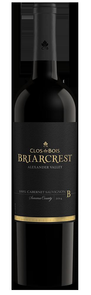 2014 Clos du Bois Briarcrest Cabernet Sauvignon Alexander Valley