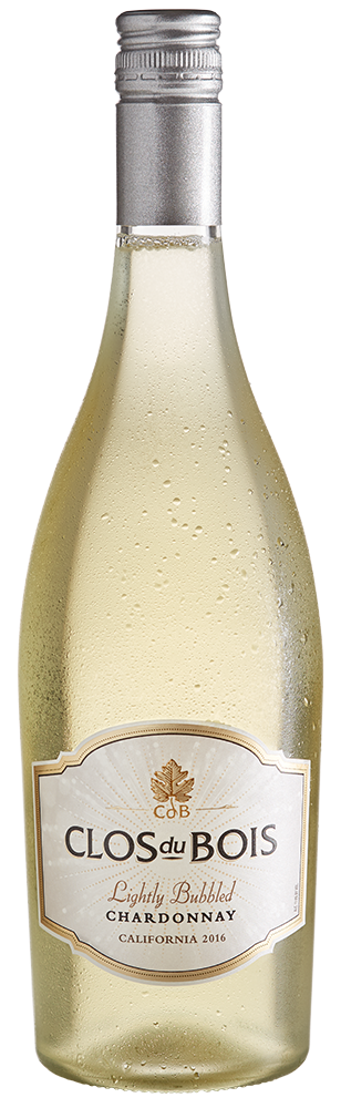 2016 Clos du Bois Lightly Bubbled Chardonnay California Image