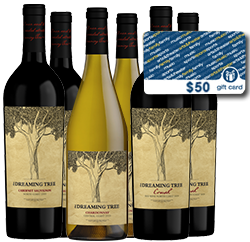 Dreaming Tree 6 Pack + $50 Ticketmaster Gift Card