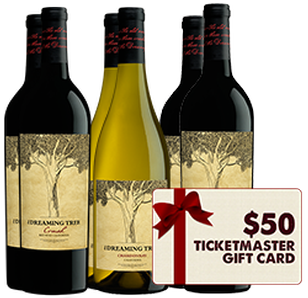 The Dreaming Tree 6 Pack + $50 Ticketmaster Gift Card