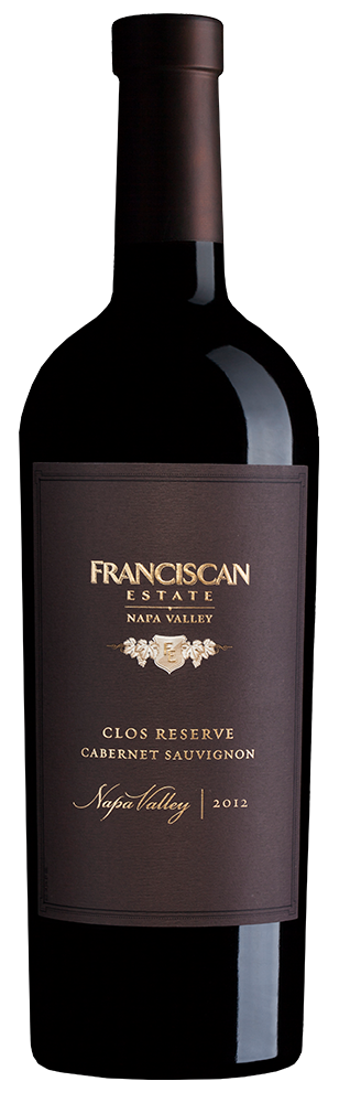 2012 Franciscan Estate Clos Reserve Cabernet Sauvignon Napa Valley