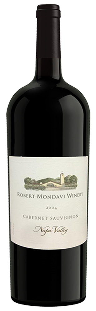 2004 Robert Mondavi Winery Cabernet Sauvignon Napa Valley 1.5L