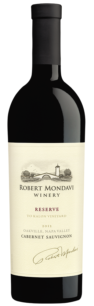 2012 Robert Mondavi Winery Reserve To Kalon Vineyard Cabernet Sauvignon Oakville Napa Valley