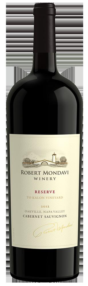 2012 Robert Mondavi Winery Reserve To Kalon Vineyard Cabernet Sauvignon Napa Valley 1.5L