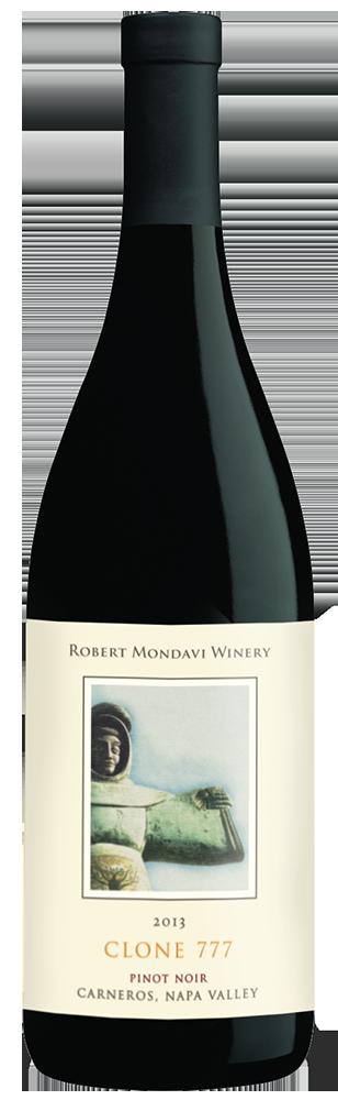 2013 Robert Mondavi Winery Clone 777 Pinot Noir Carneros Napa Valley