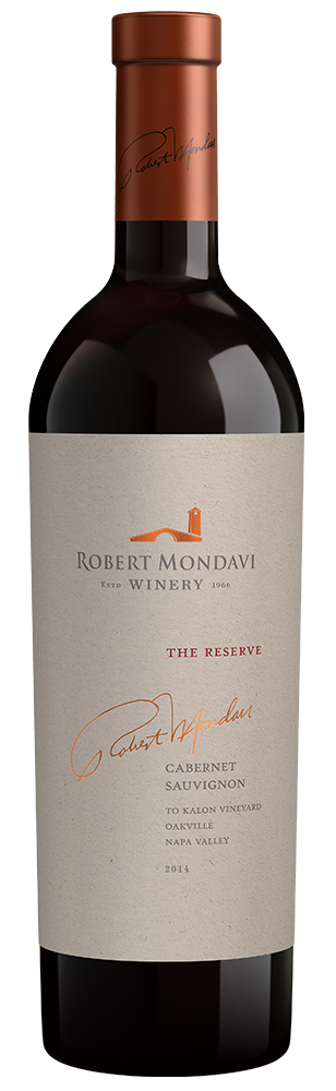 2014 Robert Mondavi Winery Reserve To Kalon Vineyard Cabernet Sauvignon Oakville Napa Valley