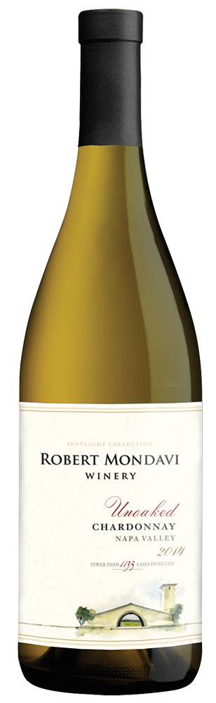 2014 Robert Mondavi Winery Unoaked Chardonnay Napa Valley Image