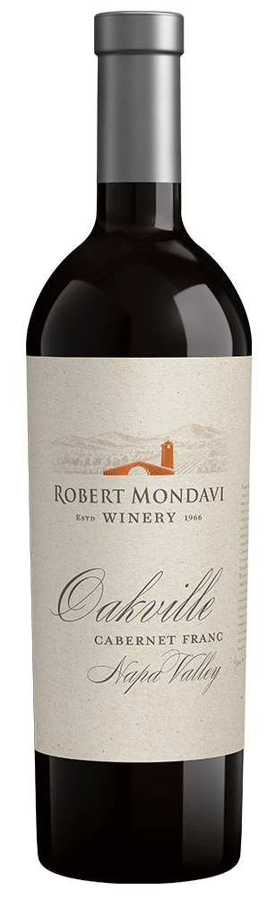 2015 Robert Mondavi Winery Cabernet Franc Oakville Napa Valley