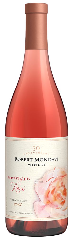 2015 Robert Mondavi Winery Harvest of Joy Rosé Wine Napa Valley
