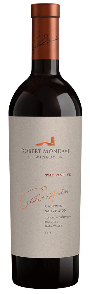 2015 Robert Mondavi Winery Reserve To Kalon Vineyard Cabernet Sauvignon Oakville Napa Valley