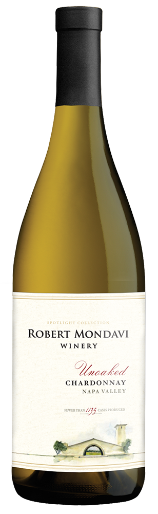 2015 Robert Mondavi Winery Unoaked Chardonnay Napa Valley Image