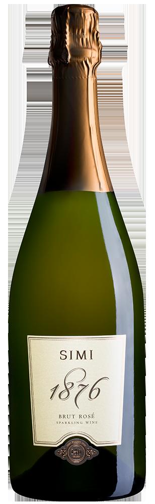 SIMI 1876 Brut Rosé Sparkling Wine Sonoma County