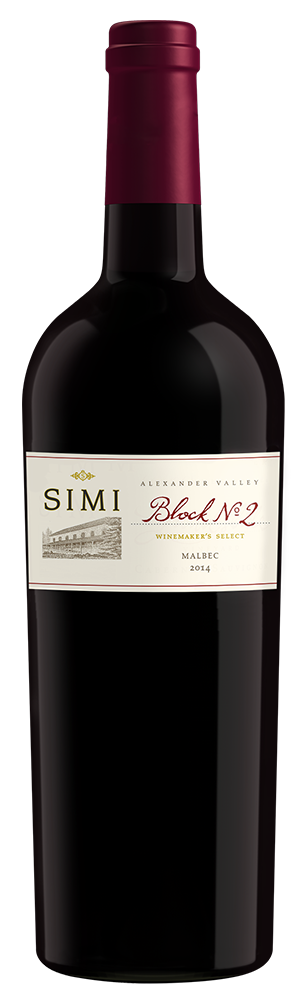 2014 SIMI Winemaker's Select Block No 2 Malbec Alexander Valley