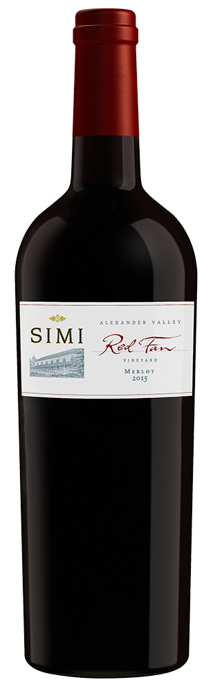 2015 SIMI Red Fan Vineyard Merlot Alexander Valley Image
