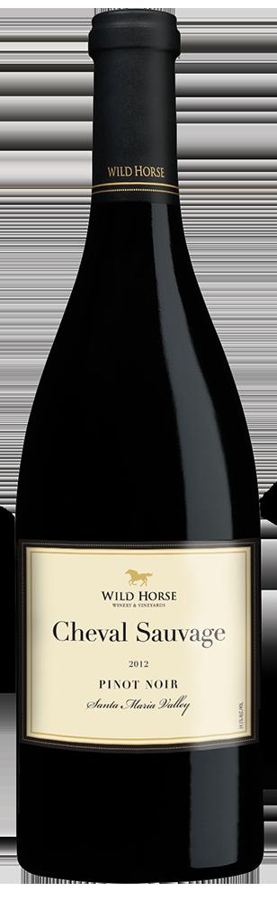 2012 Wild Horse Cheval Sauvage Pinot Noir Santa Maria Valley