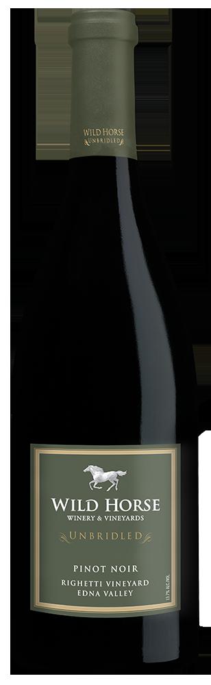 2013 Wild Horse Unbridled Righetti Vineyard Pinot Noir Edna Valley